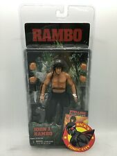 JOHN J RAMBO ACTION FIGURE Reel Toys NECA First Blood Part 2 Sylvester Stallone