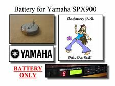 Battery for Yamaha SPX900 FX Processor - Internal Memory Replacement Battery