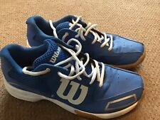Wilson Squash Shoes. Size 7.5 (EU 41.5).
