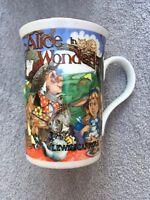 Alice In Wonderland Mug Sadler Mad Hatter Tea Party Cheshire Cat Coffee Beaker