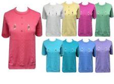 Unbranded Short Sleeve Long Jumpers & Cardigans for Women