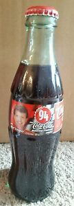 BILL ELLIOTT Coke Coca Cola Bottle 1999 8 Ounces NASCAR