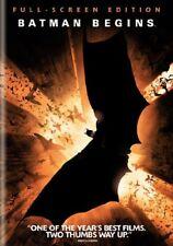 Batman Begins (Full Screen Edition) [DVD] [2005] NEW!