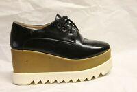 37 Sneaker platform USATISSIME donna francesine zeppa flatform well worn