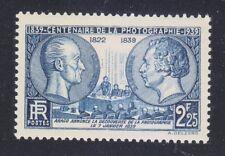 France 1939 MNH Mi 446 Sc 374 Centenary of photography **