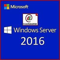 Windows Server 2016 Standard Version + 50 USER CALS LICENSE (BEST BUNDLE)