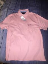 TOMMY HILFIGER Pink Classic Fit Polo Rugby Shirt **NEW lil peep fire fashion ian