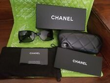 CHANEL Black Sunglasses EUC!!