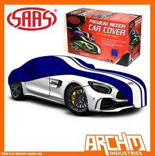 SAAS Indoor Car Cover Large 5.0m Blue fits Porsche 911 928 996 Boxter Cayman