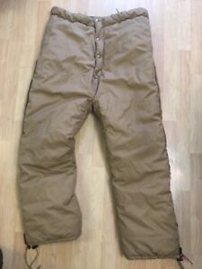 Nordlaska Arctic Survival Equipment Insulated Pants Made In USA Small 38x28