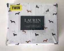 Ralph Lauren Dachshund Twin Sheet Set Nip