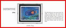 MICRONESIA 1996 SURGEON FISH (46c) mnh