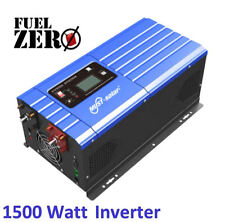 1500W / 4500 Watt 24v Pure Sine Low Frequency 110v Inverter Built-In AC Charger