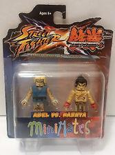 "Street Fighter X Tekken Abel vs. Kazuya Minimates 2"" Figure 2012 Damaged Package"