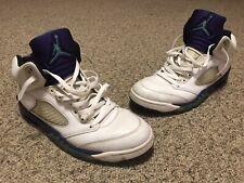 b00364a3e64 Air Jordan V 5 Retro White Grape Edition 136027-108 Size 13 Used Trashed  Beaters
