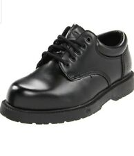 Skechers Work Slip Resistant Black Leather Harvard Oxford Shoes Mens 10.5 New