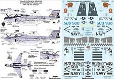 EA-6B Prowler: VAQ-135, VAQ-137 (1/48 decals, Superscale 481256)