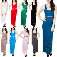 Viscose Machine Washable Dresses for Women with Belt