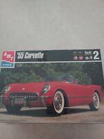 AMT Model's '55 Corvette Plastic 1:25 Model SEALED