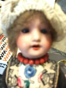 """Vintage 1930s 390 1310 Marked Kimport Composition Holland Girl Doll 8"""" Tall"""
