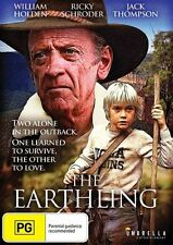 The Earthling (DVD) DRAMA William Holden Jack Thompson [All Regions] NEW/SEALED
