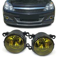 Klarglas Nebelscheinwerfer H11 Gelb für Renault Suzuki Opel Citroen Peugeot Ford