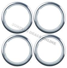 "Premium Chrome Wheel Band Trim Ring 14"" - SET OF 4"