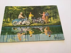 ARIEL ARROW / LEADER MOTORCYCLE SALES BROCHURE. Original