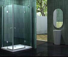 NEOTEC 120 x 90 Duschtasse Glas Duschkabine Eckeinstieg Dusche Duschabtrennung