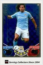 2010-11 Topps Match Attax Star Player Foil No 198 Carlos Tevez (Manchester City)