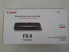 Nuevo y sin uso-Cartucho de Láser Monocromática Canon FX4/fax L800/900