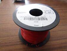 Nexans Red, 250m PVC Equipment Wire, 0.12 mm² CSA , 250 V 26 AWG - 1923869