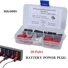 20* 30A Battery Connector Modular Power Connectors Quick Connect Disconnect Plug