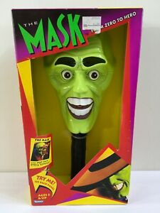 The Mask From Zero To Hero Mask With Pop-Out Eyes & Tongue Kenner 1995 NEW