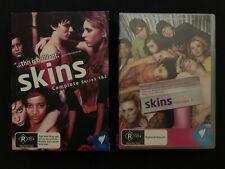 Skins complete series 1 & 2 DVD (Region 4)