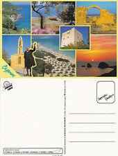 1990's MULTI VIEWS OF CYPRUS UNUSED COLOUR POSTCARD (a)