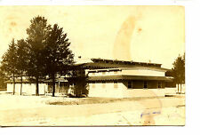 Officer's Club-Camp-Fort-McCoy-Wisconsin-RPPC-1944 Vintage Real Photo Postcard