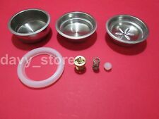 KIT MOKONA BIALETTI VALVE + GASKET SAUCER + 3 FILTERS COFFEE AND PODS