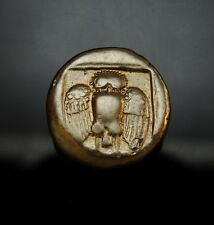 Owl and Goat. one of few known.Rare Ancient Greek gold coin. Similar sold $2,500
