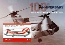 Palau - Helicopter Stamp - Souvenir sheet MNH