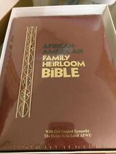 African American Family Heirloom Bible-KJV (2006, Hardcover)  Dallas LOCAL APWU