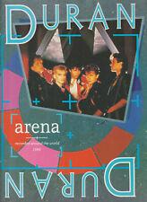 Duran Duran - Arena - Recorded Around the World 1984 - Sheet Music Book in VGC