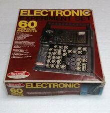 1982 SKILCRAFT ELECTRONIC EXPERIMENT SET 60 WORKING PROJECTS