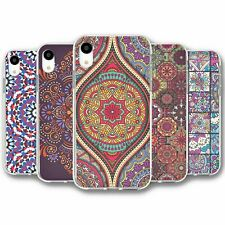 For iPhone XR Silicone Case Cover Mandala Collection 5