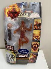 Marvel Legends Hasbro Human Torch Variant Walmart Ares Baf Wave Misb