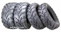 Set of 4 New ATV UTV Tires 25x10-12 Front 25x11-12 Rear 6PR Mud