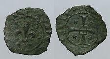 pcc940_12) Brindisi Carlo I d' Angiò (1266-1282) Denaro con Giglio Spahr 25 R