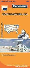 Southeastern USA by Michelin Editions des Voyages (Sheet map, folded, 2013)