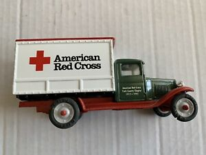 American Red Cross 75th Anniversary ERTL Collectible 1930 Chevrolet Truck 1:43