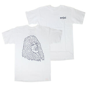 Enjoi Skateboards Shirt Veejay White